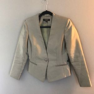 Green TAHARI Dress Blazer